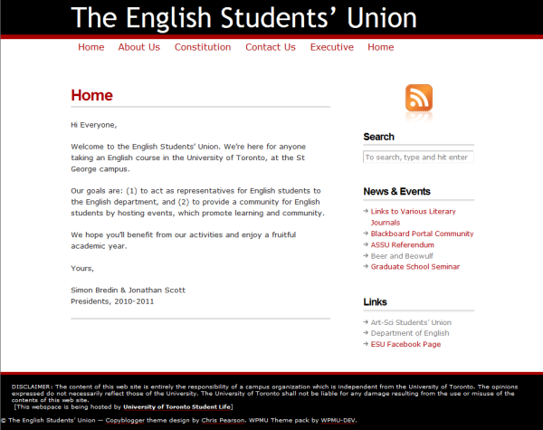 ESU Website